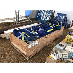 PALLET OF BLUE COVERALLS