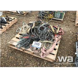CABLE SLINGS, TOW ROPES, TAG LINES