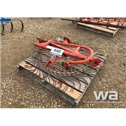 SITREX 2 WHEEL SWATH TURNER