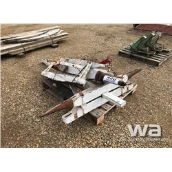 PALLET OF SLEIGH PARTS
