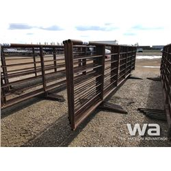 (5) 6 X 24 FT. FREESTANDING LIVESTOCK PANELS