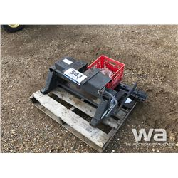 5TH WHEEL HITCH & RAILS