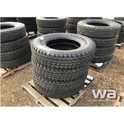 (4) TRIANGLE 11R24.5 TRUCK TIRES
