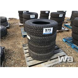 (4) GOODYEAR LT275/65R18 TIRES