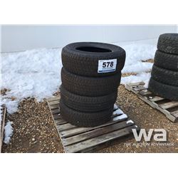 (4) GOODYEAR P265/65R18 TIRES