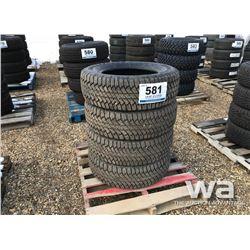 (4) BRIDGESTONE DUELER 265/65R18 TIRES