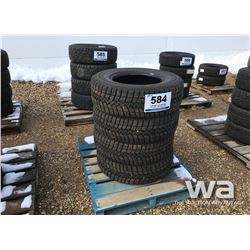 (4) GOODYEAR ULTRAGRIP LT265/70R17 TIRES
