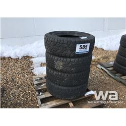 (4) WILD COUNTRY LT285/70R17 TIRES