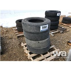 (4) MICHELIN 265/70R17 TIRES