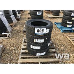(4) DUNLOP SIGNATURE 205/60R16 TIRES
