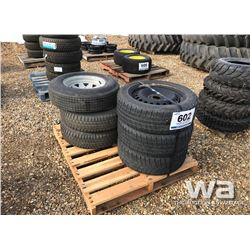 PALLET OF (6) TIRES