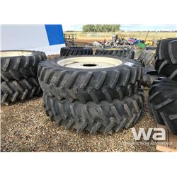 (2) FIRESTONE 18.4R46 TRACTOR RADIAL TIRES