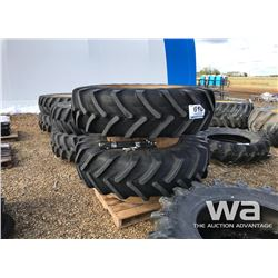(2) MICHELIN 18.4-38 TRACTOR DUAL TIRES