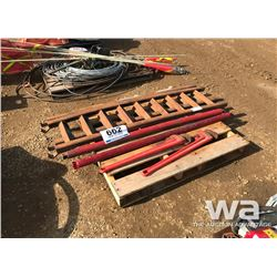 "36"" PIPE WRENCHES, BALER BARS"