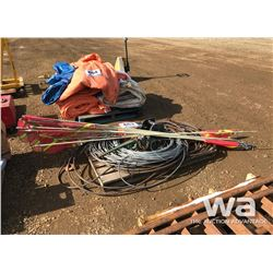 ANTENNAS, WIRE, SLINGS, CHAIN HOISTS
