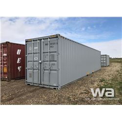 2018 8 X 40 FT. HC ONE WAY SHIPPING CONTAINER