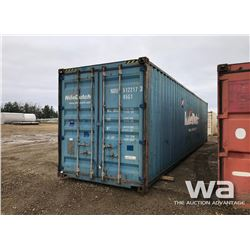 2007 8 X 40 FT. HC ONE WAY SHIPPING CONTAINER