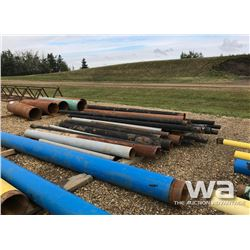 "(24) 4"" PIPE, (13) 6"" PIPE, (5) 8"" PIPE"