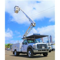 06 Ford f-550 Bucket Truck w/ Altec Boom 75,425 Miles, 42-Foot Reach