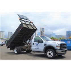 08 Ford F-550 Truck w/ Dump Bed