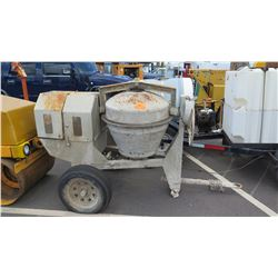 Cement Mixer - Portable - No Motor
