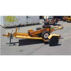 99 Rayco Stump Grinder with Trailer