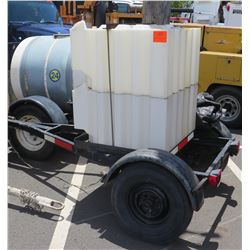 Water Tank -Trailer Mounted