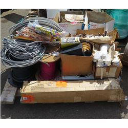 Contents of Pallet - Wire Fuses Etc