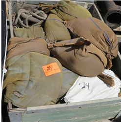 Contents of Pallet-Sandbags Etc