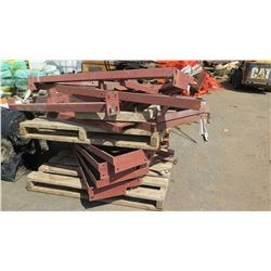Contents of Pallet -Metal Frame Supports