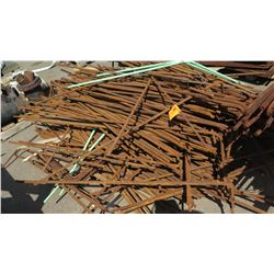 Contents of Pallet -Rebar