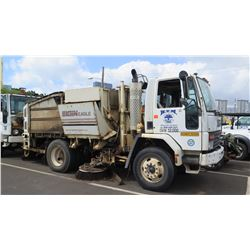 97 Ford Street Sweeper Truck Parts/Repair - See Auction Description for Issues