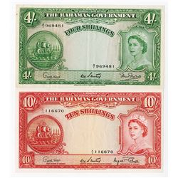 Bahamas Government, 1953, Issued Pair