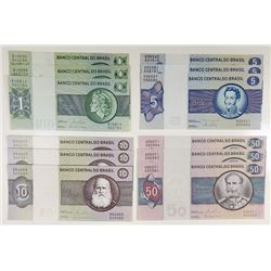 Banco Central do Brasil, 1970s-1980s, Group of 36 Issued Notes.