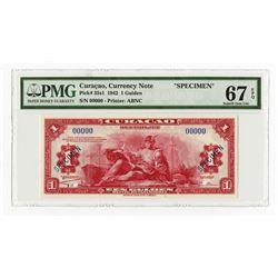 Curacao, 1942, Specimen Banknote.