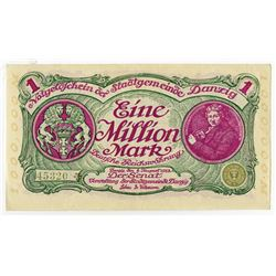 Senate of the Municipality - 1923 Inflation Issue Banknote.