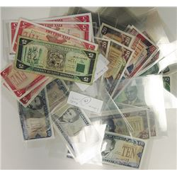 Republic of Liberia. 1991-2009. Group of 26 Issued Notes.