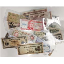 Various Philippines Issuers. 1940s-2010s. Group of 19 Issued Notes.