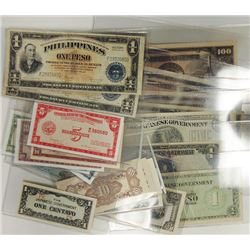 Various Philippines Issuers. 1942-2005. Group of 29 Issued Notes.