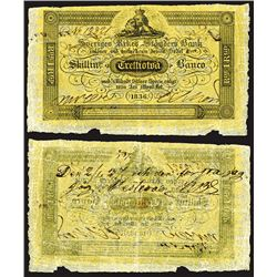 Sveriges Rikes Standers Bank, 1836 Issue.