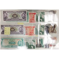 Banco Central de Venezuela, 1960s-1990s, Collection of 17 Notes.