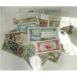 Assorted Asian Issuers. 1947-1979. Group of 15 Issued Notes.