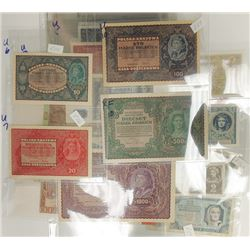 Assorted Eastern European Issuers, 1910s-1960s, Group of 41 Issued Notes.