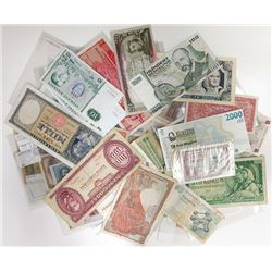 Assorted European Issuers. 1917-1990. Group of 90+ Issued Notes.