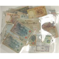 Assorted Issuing Authorities, 1900s-1970s, Collection of 59 Notes.