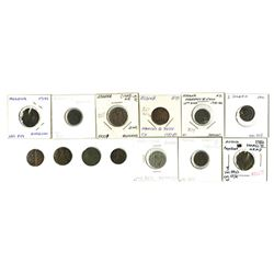 Modena: Francesco III d'Este, 1737-1780, Group of 13 Coins