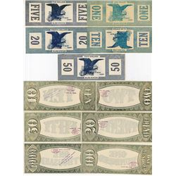 Missouri & Maine College Currency Banknote assortment.