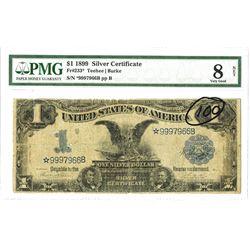U.S. Silver Certificate, $1, 1899, Fr.233* Star Note, Teehee | Burke.