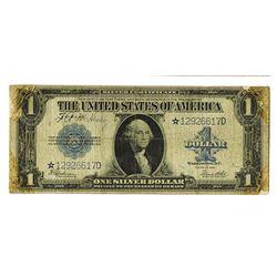 U.S. Silver Certificate, $1, 1923 Fr.237* Star Note.