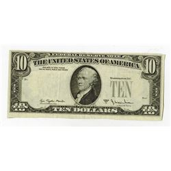 U.S. Federal Reserve Note Error, $10, 1977 A Missing Serial Numbers and Seals